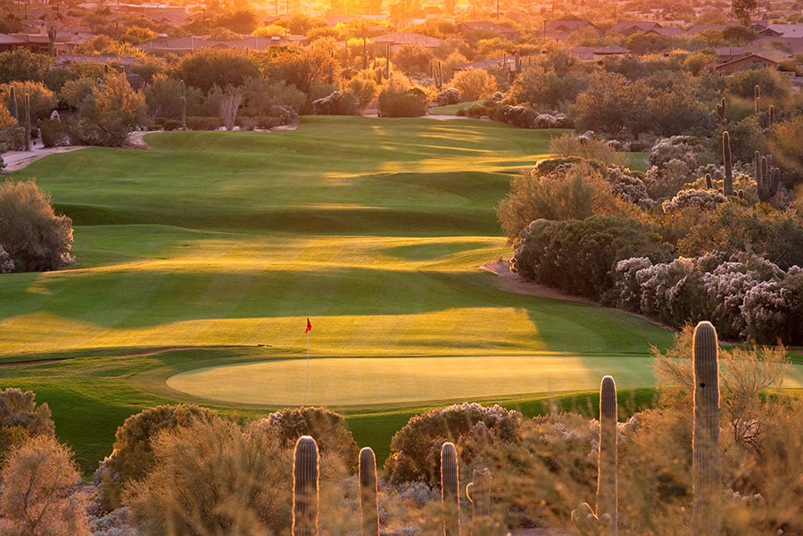 photo of an arizona golf course in chandler arizona