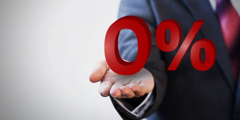 this is a photo of a business man offering zero percent title loans in red coloring from titleloansonline.com