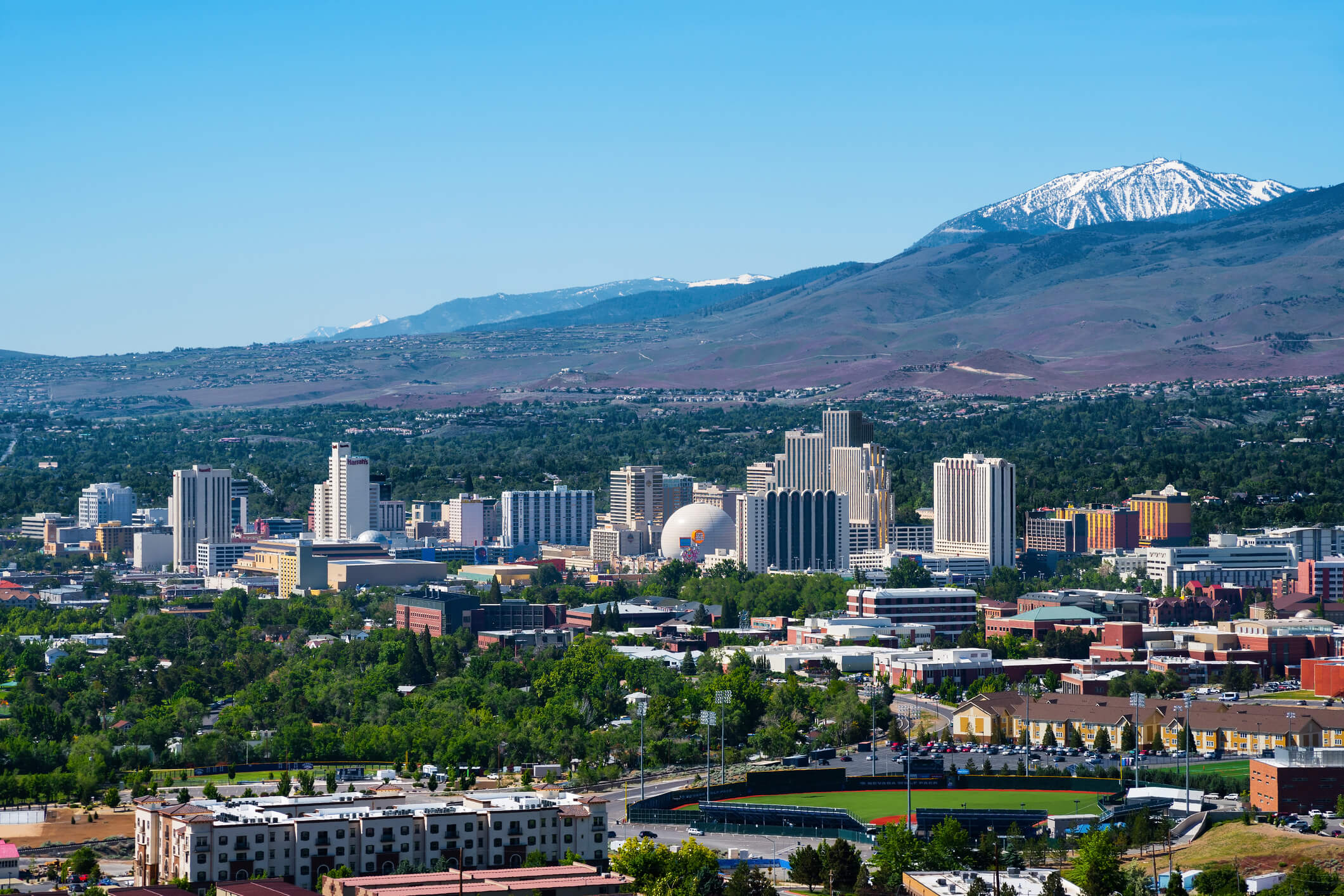 this is a photo of downtown Reno, Nevada